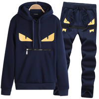 One Punch Man Sweat Suit Men Polos Suits Brand Clothing Men's Tracksuits Jackets Sportswear Sets Jogging Suits Hoodies Men