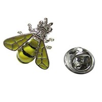 Yellow Bee Lapel Pin [Jewelry]