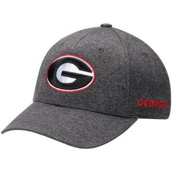 NCAA Georgia Bulldogs Top Of The World Callout Grey Adjustable Hat