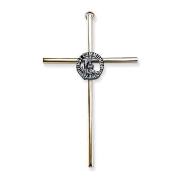 Gold-tone/silver-tone Metal First Communion Wall Cross