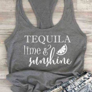 Tequila Lime & Sunshine, Tank Top