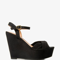 Twisted Wedge Sandals | FOREVER 21 - 2024824638