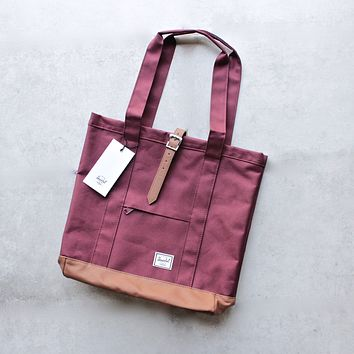 herschel supply co. - womens market tote - windsor red