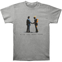 Pink Floyd Men's  Wish You Were Here T-shirt Grey Rockabilia