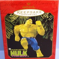 1997 The Incredible Hulk Hallmark Retired Ornament