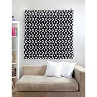 Wall Tapestry - Ink Ikat