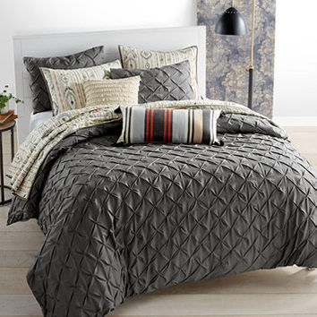 Whim by Martha Stewart Collection You Compleat Me Smoke Bedding Collection, Only at Macy's | macys.com