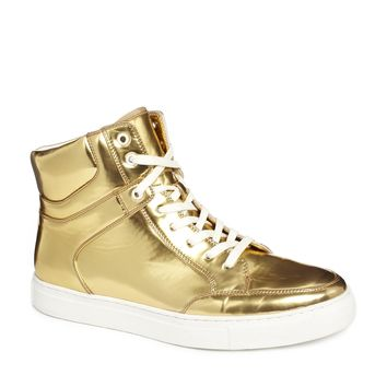 ASOS Trainers in Metallic Gold