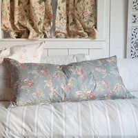 Prairie Rose Poplin Pillow from Rachel Ashwell Shabby Chic Couture