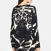 Hot & Delicious Tiger High/Low Sweater (Juniors)