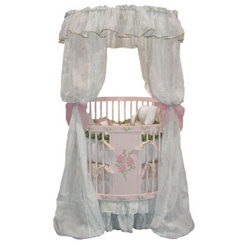 Fairy Tale Princess Round Crib