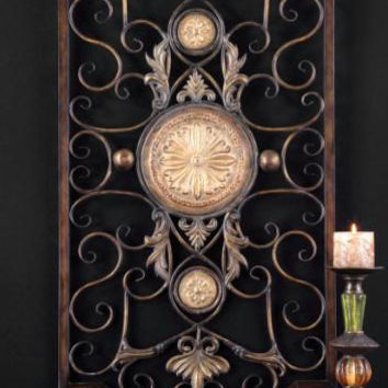 Wall Panel - Hand Forged Metal
