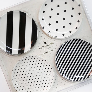 Kate Spade New York Melamine Coaster Set - Raise A Glass