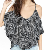 Southwest Print Convertible Circle Top from EXPRESS