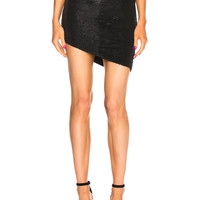 IRO Reward Skirt in Black | FWRD