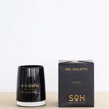 Scent of Home | Candle | Mr. Violette | Black