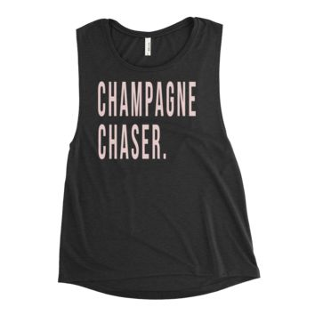 Champagne Chaser Tank T-Shirt