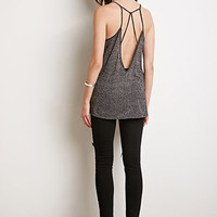 Marled Strappy Back Cami