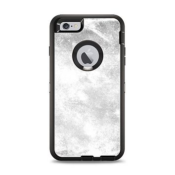 The White Cracked Rock Surface Apple iPhone 6 Plus Otterbox Defender Case Skin Set