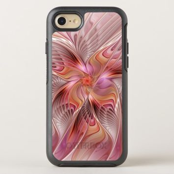 Abstract Butterfly Colorful Fantasy Fractal Art OtterBox Symmetry iPhone 8/7 Case