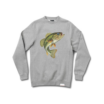 Hope Bass Crewneck Sweatshirt in Heather