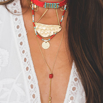Coral Sands Choker Necklace