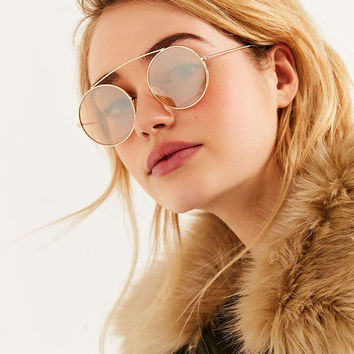 Promenade Round Sunglasses | Urban Outfitters