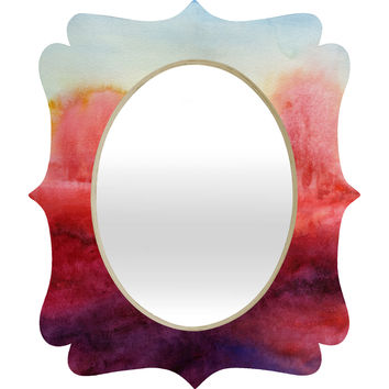 Jacqueline Maldonado Where I End Quatrefoil Mirror