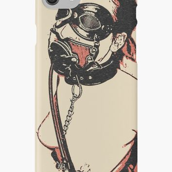 'Asphixiation fetish, very inventive bedroom games indeed' iPhone Case/Skin by sexyjustsexy