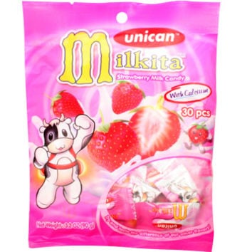Unican Milkita Strawberry Milk Candy 3.20 oz - AsianFoodGrocer.com | AsianFoodGrocer.com, Shirataki Noodles, Miso Soup