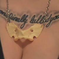 Handcrafted Authentic Coyote Vertebrae Necklace