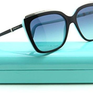 Tiffany & Co. TF 4135-B-F Women Square Asian Fit Sunglasses