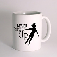 Peter Pan never Grow Up for Mug Design