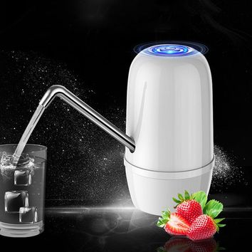 Automatic Portable Mini Water Dispensers Water Pump Dispenser USB Charging Energy Cold Drinking Bottle Switch Double Pump