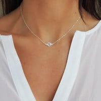 CRYSTAL SOLITAIRE NECKLACE - Christine Elizabeth Jewelry™