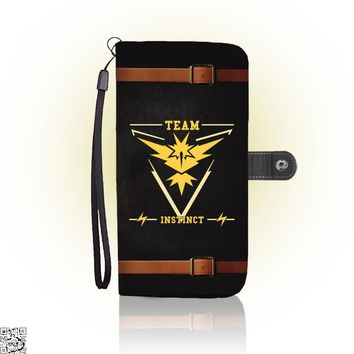 Go Team Instinct, Pokemon Wallet Case