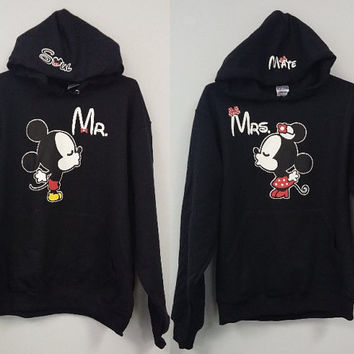 Couples - Pullover Hoodies - Mr. Soul + Mrs. Mate