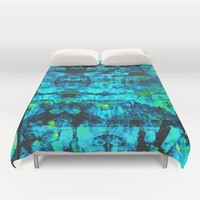 Bioluminescence Duvet Cover by Aaron Carberry