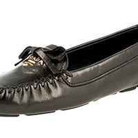 Prada Women's 1DD040 038 F0002 Leather Loafers