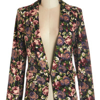 ModCloth Long Sleeve Networking on the Terrace Blazer