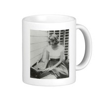 Sylvia Plath Typewriter Mug