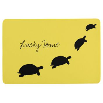 Lucky Home Tortoises Floor Mat