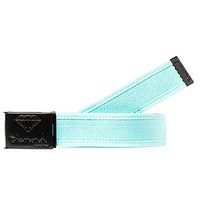 Diamond Supply co Accessories OG Logo Two Tone Belt in Black and Diamond Blue
