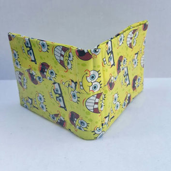 SpongeBob Duct Tape Wallet - Bifold Wallet