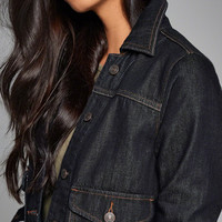 Womens Rinse Wash Denim Jacket | Womens Outerwear & Jackets | Abercrombie.com
