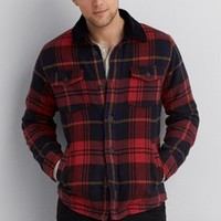 AEO Flannel Jacket, Multi | American Eagle Outfitters