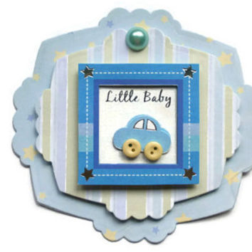 boy, little baby, Scrapbook embellishment, Paper piecing, paper flower, gift tags, Scrapbooking Layouts, Cards, Mini Albums Paper Crafts