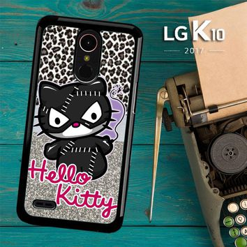 Hello Kitty Catwoman W3152 LG K10 2017 / LG K20 Plus / LG Harmony Case