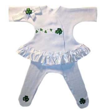 Baby Girls' Luck of the Irish Sassy Dress