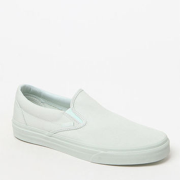 Vans Women's Classic Slip-On Mono Canvas Sneakers at PacSun.com